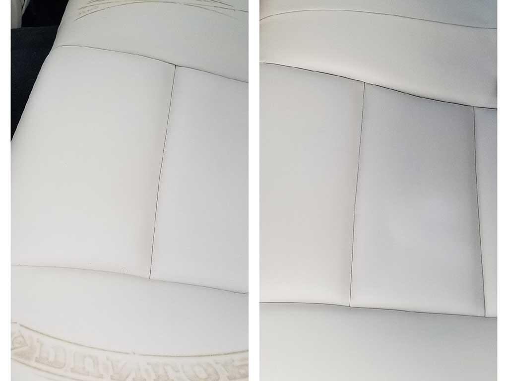 Aléta9 - reteinte de cuir, chaise